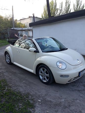 Продам VW beetle Cabrio 2.0 газ бензин