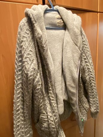 Зимняя кофта - куртка с капюшоном