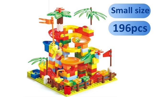 Конструктор лабиринт для шариков. Совместим с LEGO (мелкие детали)