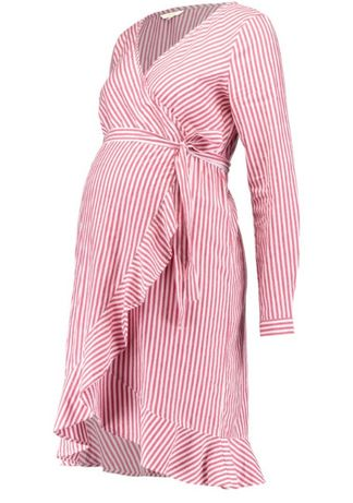 Sukienka ciążowa w paski noppies