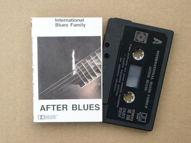 kaseta After Blues - International Blues Family 1988 Pol.Nagr. Piłat