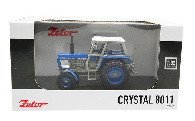 Metalowy model traktor Zetor Crystal 8011 2WD UH5246 w skali: 1:32