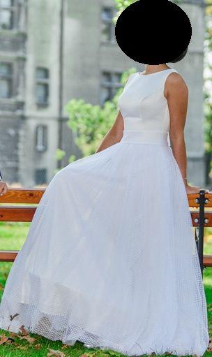 Suknia ślubna na ślub Fulara&Żywczyk biała wymiary do zmierzenia