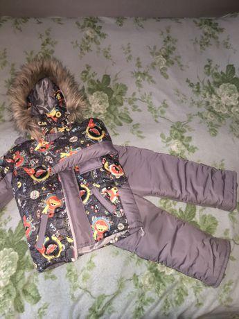 Зимний костюм,комбинезон,комбез