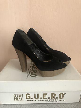 Туфлі замшеві Bravo Moda