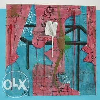 Obraz olejny na płótnie 100x100cm