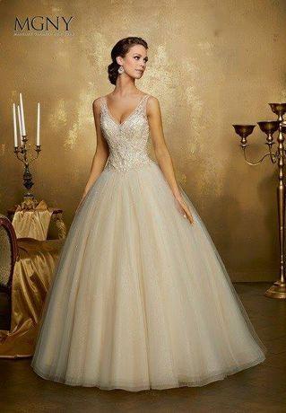 Vestido de noiva ( Madeline Gardner New York)