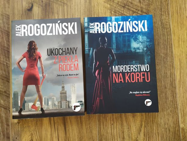 """Alek Rogoziński """"Ukochany z piekła rodem"""""""