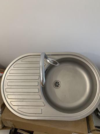 Кухонная мойка Franke из нержавейки + Кран