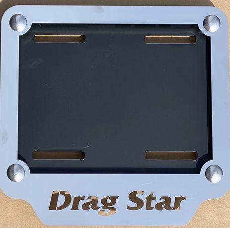 Ramka pod tablice rejestracyjną Yamaha Drag Star