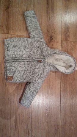 Ocieplany sweterek