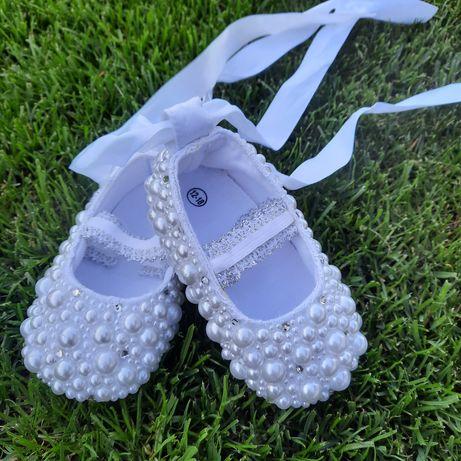 Sukienka, buty i bolerko do chrztu