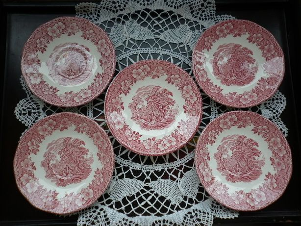 тарелочки блюдца фарфоровые Англия