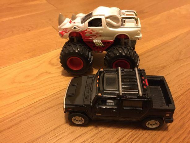 Autka - monstertruck i Hummer (Kinsmart -prod. na licencji)