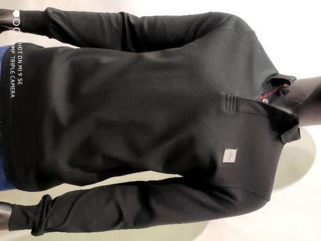Брендовая футболка поло с длинным руковом Hugo Boss