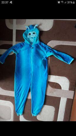 Piżama niebieska stworek xl **wymiary w opisie**