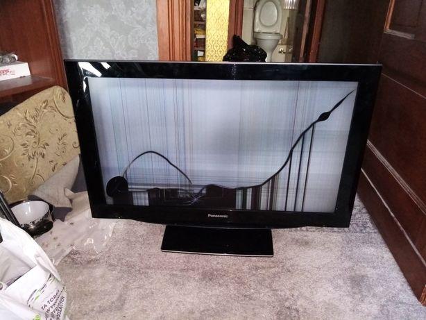 Telewizor panasonic 37cali TX-37LZD80F (uszkodzony)