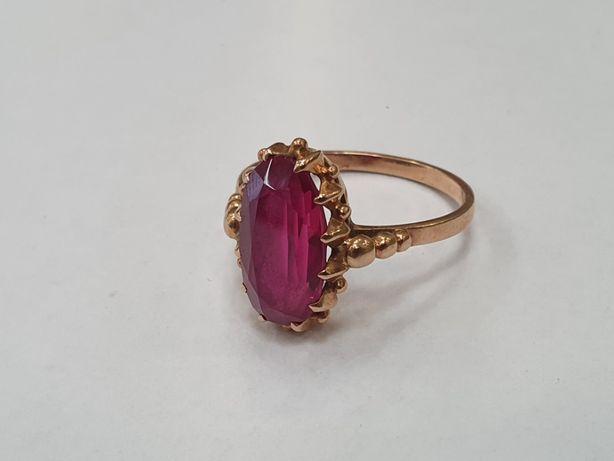 Retro! Piękny złoty pierścionek/ Radzieckie 583/ 4.4 gram/ R20/ Gdynia