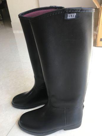 Ботинки сапоги ELT для верховой езди,состояние как новие, размер 33-35