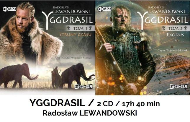 audiobook 2 CD YGGDRASILL tom 1+2 / Lewandowski Radosław / 17h 40 min