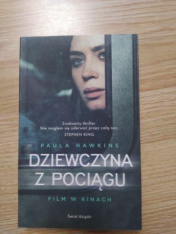 """Książka """" dziewczyna z pociągu """""""