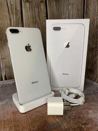 Iphone 8 plus silver 64GB neverlock