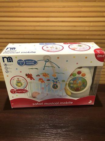 Продам Мобиль карусель Mothercare SAFARI в кроватку w2907