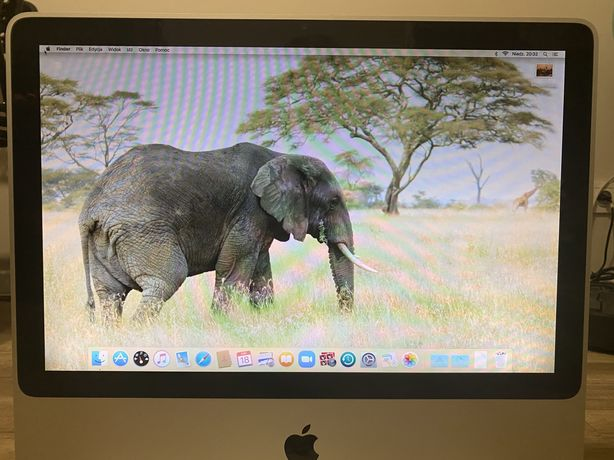"iMac 20"" 2007r 250Gb 4Gb Radeon"