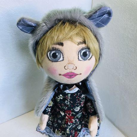 Интерьерная кукла в сьемной одежде