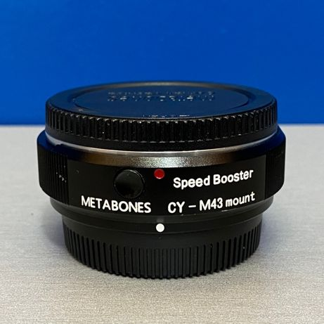 Metabones Speed Booster CY-M43 Mount (Contax/Yashica - Micro 4/3)