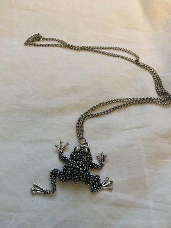 Naszyjnik żabka