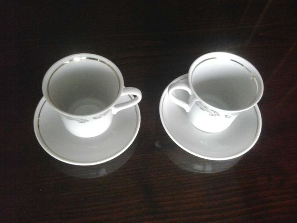 Кофейный набор - чашечка с блюдцем