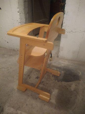 Sprzedam fotelik drewniany