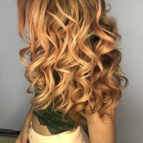 Окрашивание , наращивание волос, стрижки !