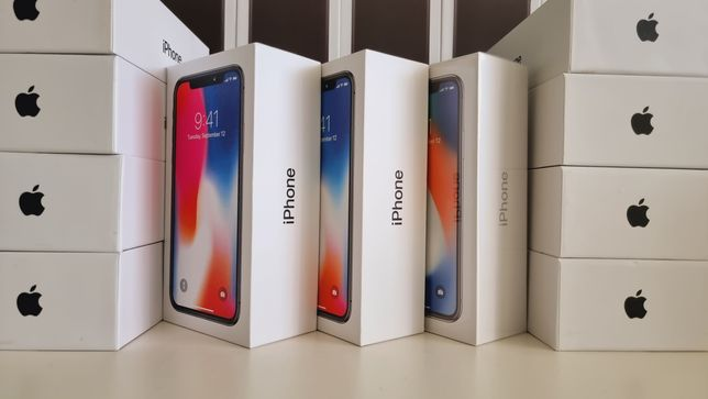 Новые iPhone X 64gb 256 Гарантия 12мес