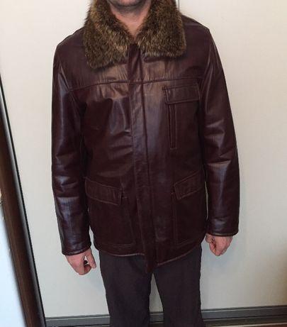 Продам мужскую кожаную Куртку в хорошем состоянии