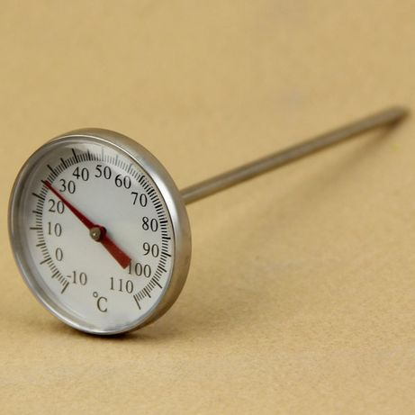 Механический градусник для кофе/чая/молока/воды/жидкостей, термометр