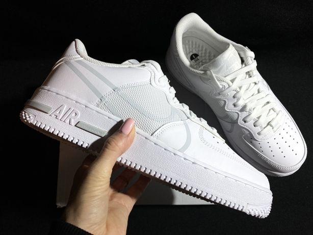 Кроссовки Nike AIR Force 1 React оригинал белые