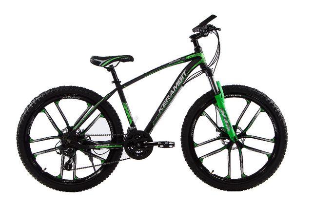 """Велосипед на литых дисках Kerambit 26"""" горный стальная рама 17"""""""