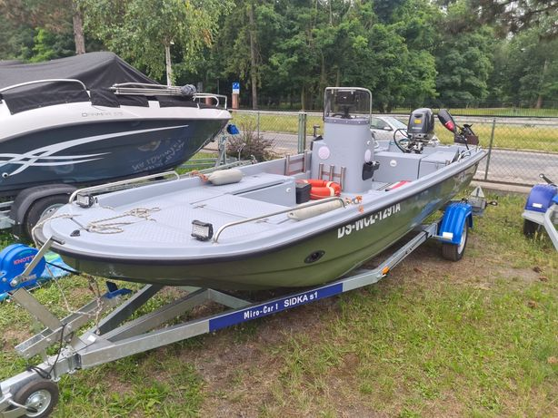 Łodz śumowa w pełni wyposażona plus 2 silniki namiot ponton przyczepa