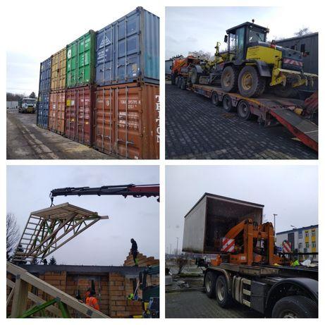 Usługi HDS, Transport HDS, Transport kontenerów, Wynajem kontenerów