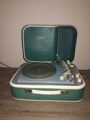 Gramofon walizkowy rosyjski PRL zabytkowy zsrr