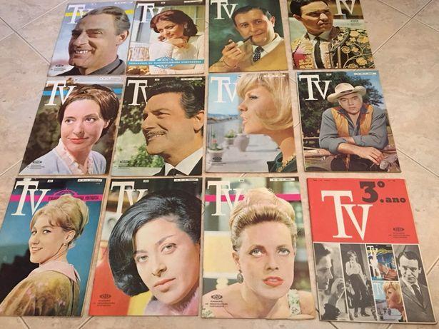 Edições revista TV semanal Radiotelevisão Portuguesa 1965