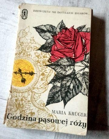 """""""Godzina pąsowej róży"""" Maria Krüger, książka wydana z błędem UNiKAT"""