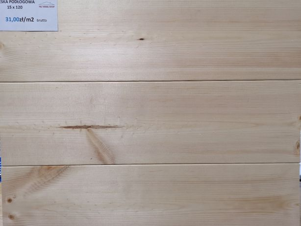 Deska Podłogowa 15x118mm