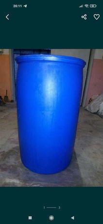 Бочка Пластиковая Новая Пищевая 220 литров.  Германия
