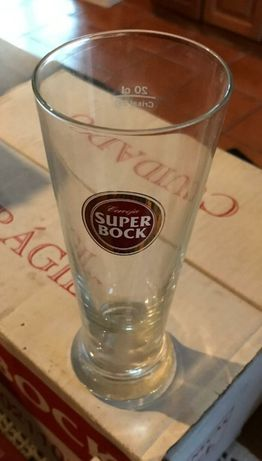 Copo cerveja super bock 20cl