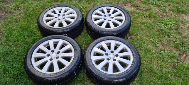 Alufelgi 16 VW ORG z oponami zima 205/55/R16