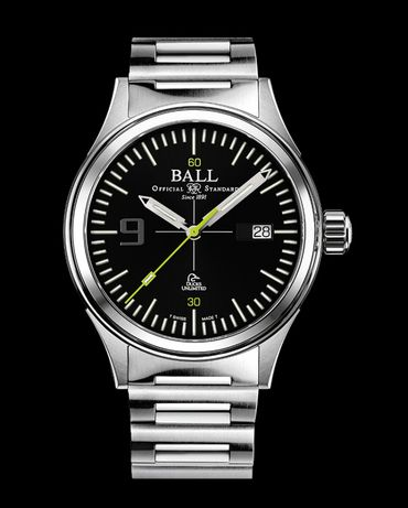 Ball Fireman Ducks Unlimited Automatic Black Dial