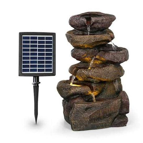 Blumfeldt FONTANNA ogrodowa solarna z pompą LED